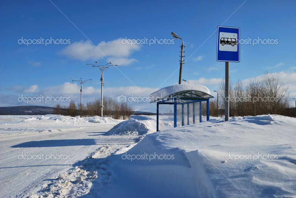 depositphotos 2863087 Bus stop
